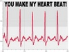 YOU MAKE MY HEART BEAT!