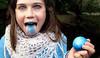 I eated blue ~