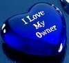 I love my owner