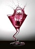 pink splash martini