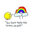 Stupid rainbow...