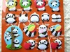Cute Puffy Panda Stickers