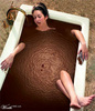 a luxurious nutella bath