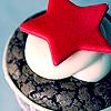 a Star Cupcake