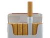 a cigarette