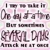 I try ..