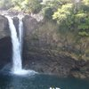 a swim at a secluded waterfall